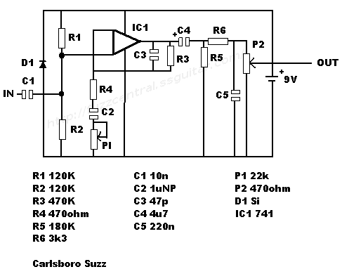 fuzz central pedals for sale rh fuzzcentral ssguitar com Basic Electrical Schematic Diagrams Residential Electrical Wiring Diagrams